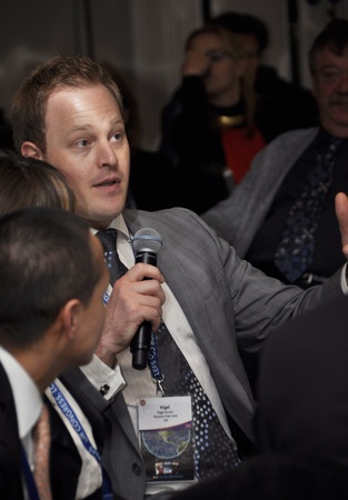 London - UK, January 30, 2012: Nigel Bowen at the 59th Concierge Congress Stock Photo - 12257662