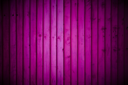 painted wood: Pink wood wall background with vignette