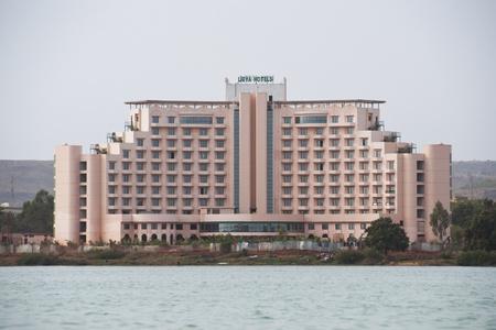 bamako: Bamako, Mali - February 15, 2012: Libya hotel in Bamako