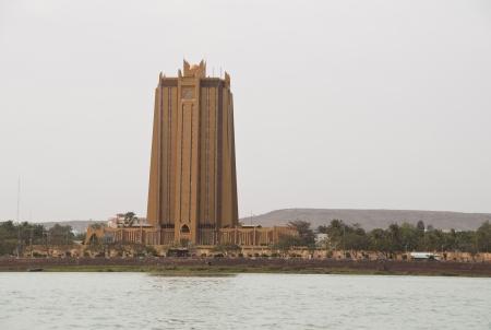 bamako: Bamako, Mali - February 15, 2012: The Bank of Africa (BOA) in Bamako, Mali