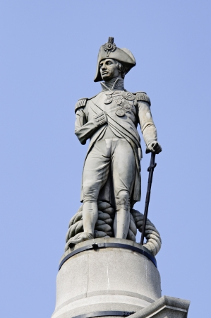 admiral: Admiral Nelson statue on top of the Nelson