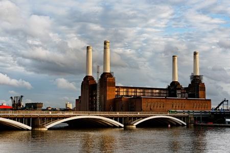 battersea: Battersea power station in London, England, UK Stock Photo