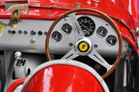 ferrari: Vintage Ferrari dashboard