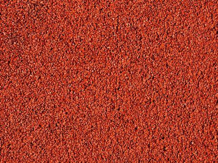 macadam: A red macadam pavement texture