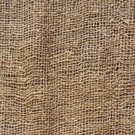 Hessian texture, square photograph Stock Photo - 18594413