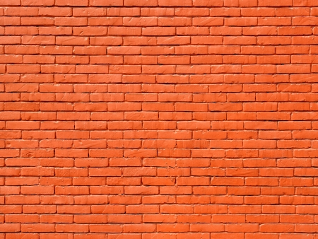 Painted brick wall, perfect as a background or texture photo