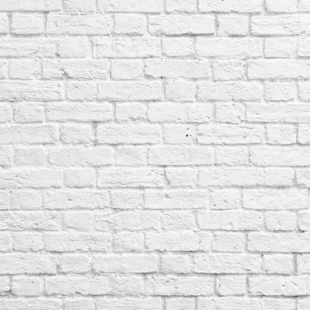 brique: Blanc texture de mur de brique ou de fond Banque d'images