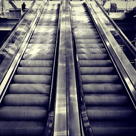 Escalators Stock Photo - 21101084
