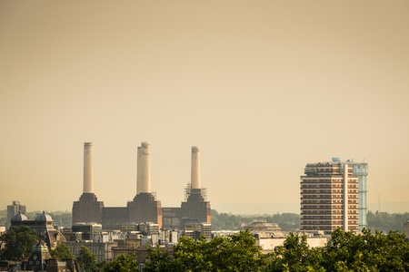 Battersea Power Station in London, England, UK photo