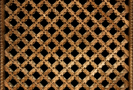 lattice window: Wooden Nepalese window called Ankhi jhyal Stock Photo