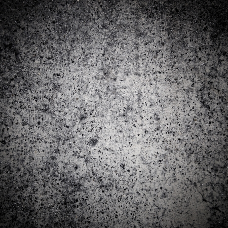 Concrete texture closeup with vignette photo