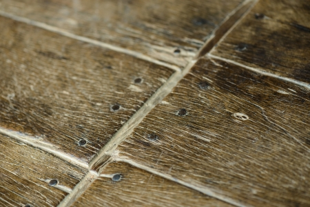 Old parquet detail photo
