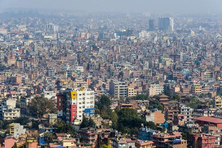 kathmandu: Kathmandu view from Swayambhunath