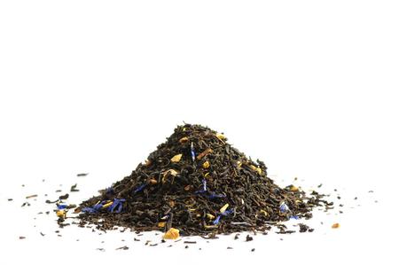 theine: Black tea scented with oil of bergamot, lemon and orange peel, and cornflower