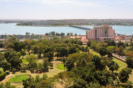 bamako: View of Bamako and the Niger River in Mali