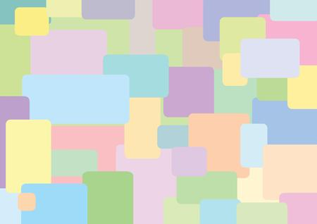 Abstract pastel vector background Vector