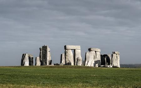 wiltshire: Stonehenge in Wiltshire, England Stock Photo