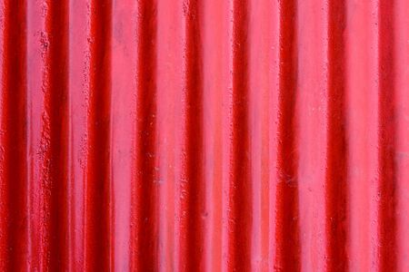 corrugated steel: Red corrugated steel sheet texture