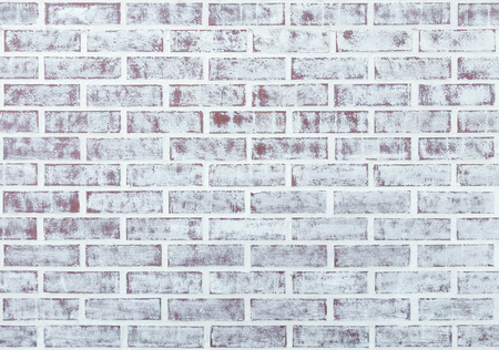 brick texture: Whitewashed brick wall texture or background Stock Photo
