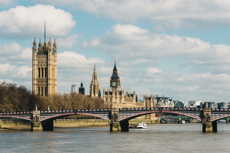 westminster: The Palace of Westminster in London, UK