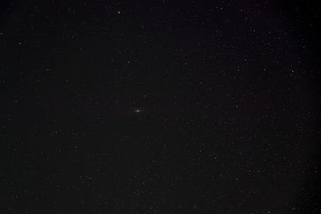 Réel ciel naturel nuit étoilée
