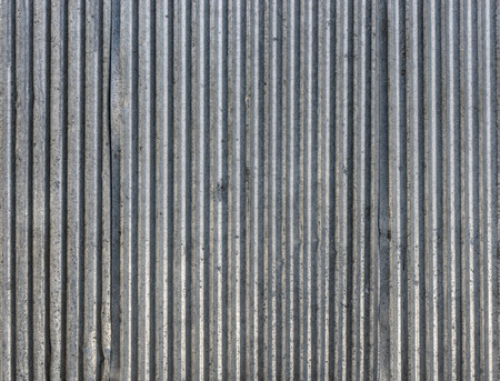 Corrugated steel sheets texture or background Banco de Imagens