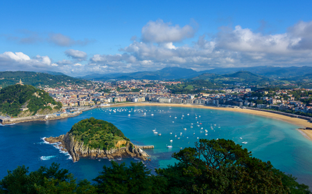 san sebastian: San Sebastian in the Basque Country, Spain