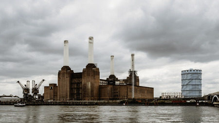 industry architecture: Battersea Power Station in London, UK Stock Photo