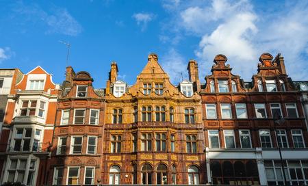 Building facade in London, England, UK