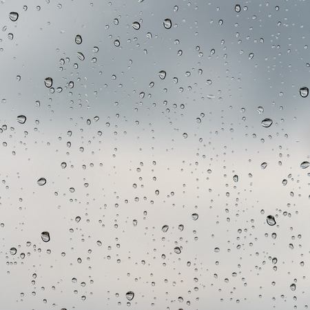 window frame: Raindrops on a glass texture