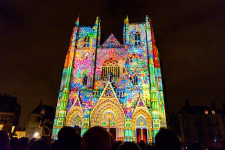 NANTES, FRANCE - DECEMBER 25, 2016: