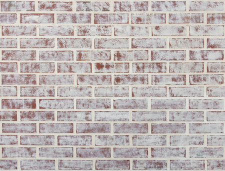 Whitewashed brick wall texture or background Фото со стока