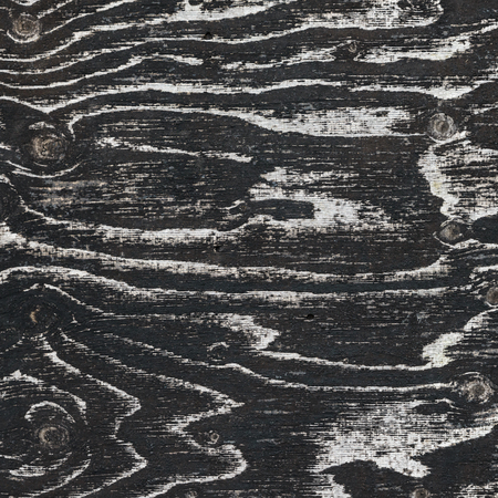 Dark wood texture, veins and knots clearly visible