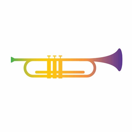 trumpet illustration