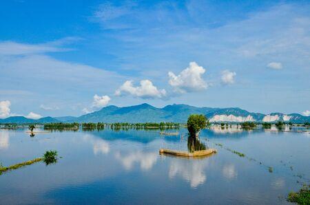 flooding: An Giang in flooding season
