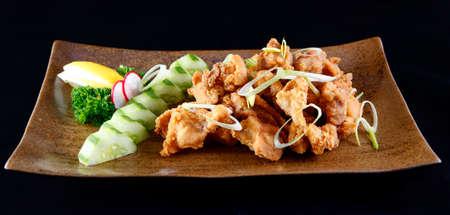 Japanese style fried chicken karaage