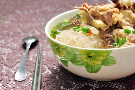 Mien Ga Oder Vietnamesische Nudeln Mit Huhnerfleisch Lizenzfreie Fotos Bilder Und Stock Fotografie Image 41396750