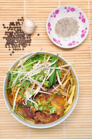 보 코 또는 베트남 소고기 수프