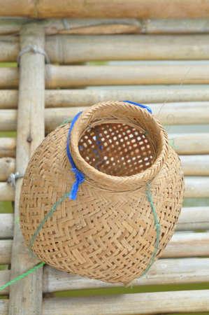 fishnet: Fish trap basket
