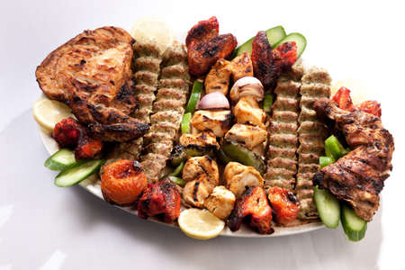 roasting pan: Plate of roasted meat
