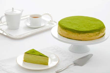 Melaleuca cake flavor, green tea cake