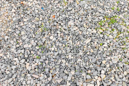 Background texture of rubble stones rubble grey brown