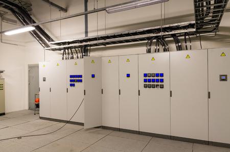 podnos: Switchgeer hlavní rozvaděč v elektrickém pokoji