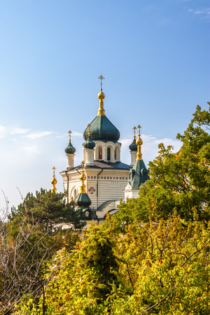 View on Foros Church, Foros Crimea Ukraine