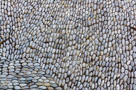 road paving: Road paving from pebble in Istanbul, Turkey
