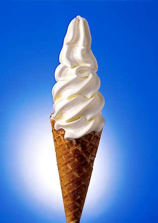 ice cream soft: Vanila Soft Icream