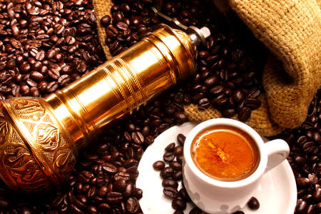 cover art: Turkish coffee Stock Photo