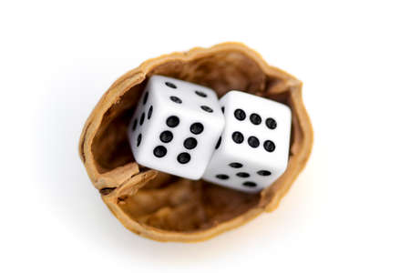 LUCK IS UNCERTAINTY 2 - Two dices in a nutshell on a journey for luck.