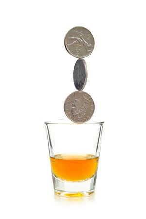 COINS ON THE EDGE
