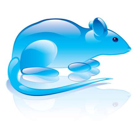 illustration of rat symbol Stock Vector - 7231361